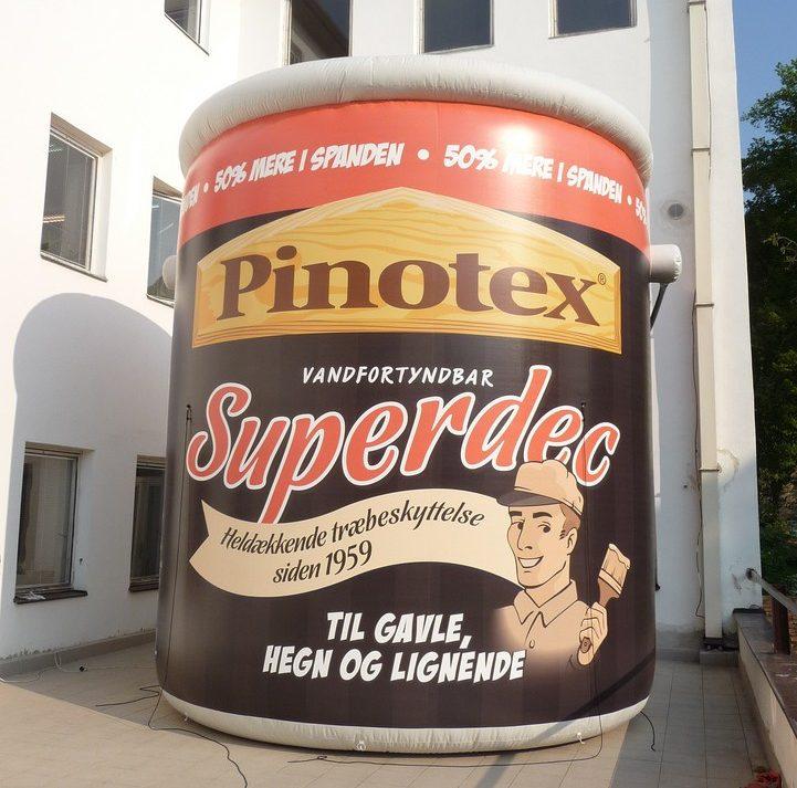Oppustelig Pinotex