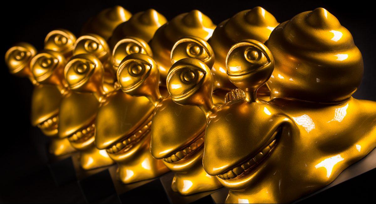 Gyldne Nybolig-snegle