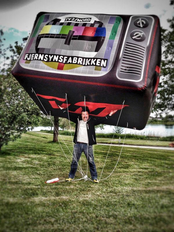 Kæmpeballon fjernsynsfabrikken