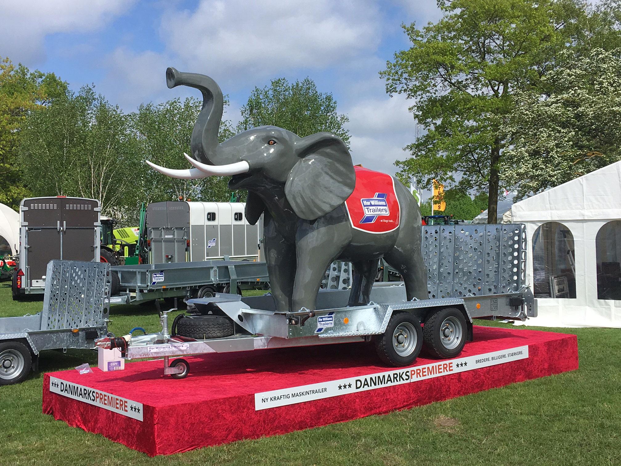 kæmpe figur elefant
