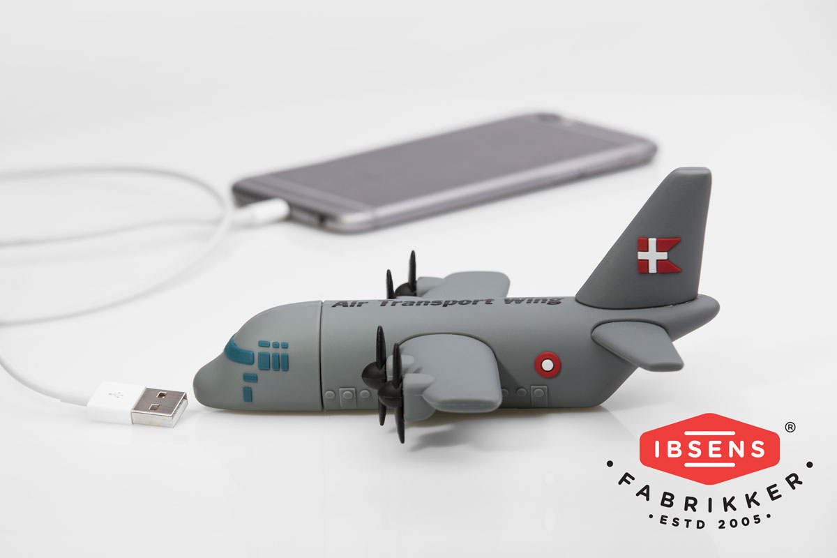 Speciallavet powerbank model C-130J Hercules